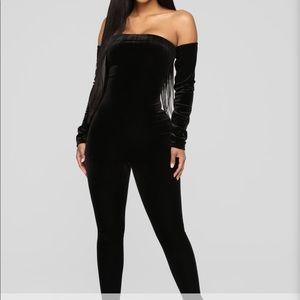 Black Velvet Jumper